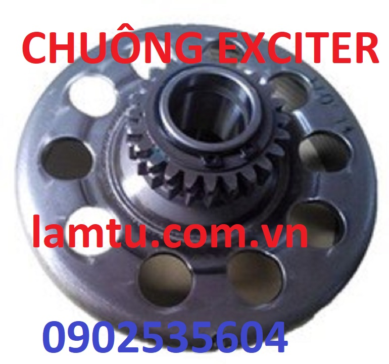 Chuông ly hợp Exciter 135